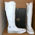 beyaz converse çizme modeli