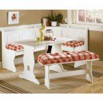 beyaz köşe mutfak masası