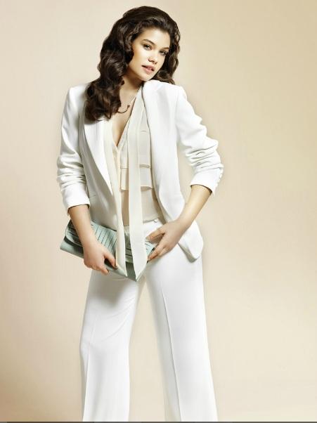 2572a3aafaa0d beyaz spor takım modeli – moda bayan giyim kadın elbise modelleri ...