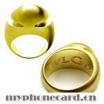 bvlgari sarı altın yüzük modeli