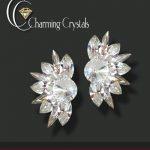 charming crystals marka küpe modeli