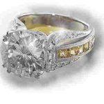 designer diamond jewelry yüzük