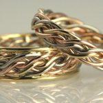 farklı örgü nişan yüzüğü modeli