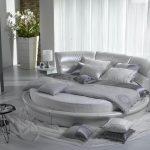havai model yuvarlak yatak