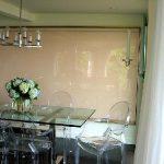 kesme cam mutfak masası yeni