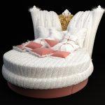 kral tahtlı çılgın tasarım yatak modeli