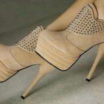 krem zınbalı bor ayakkabı