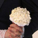 kumaştan yapılmış gelin çiçeği