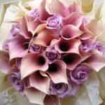 lila gelin çiçeği