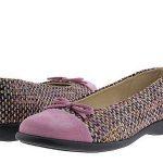 lila kırçıllı ayakkabı babet modeli