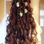 maşalı dağınık saç modeli
