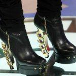 metal topuklu çizme modeli