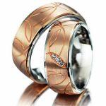 pembe altın nişan yüzüğü modeli