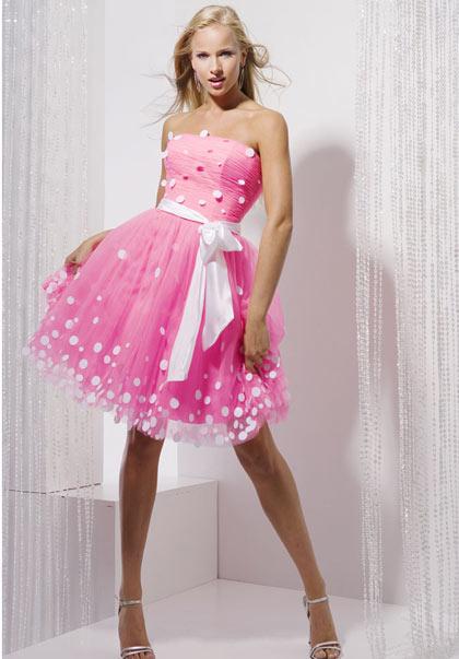 Розовое платье как сделать