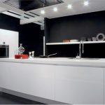sıra dışı siyah beyaz mutfak dolabı Yeni