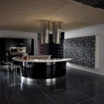 siyah beyaz mutfak dolabı konforlu