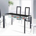 siyah beyaz sıradışı mutfak masası