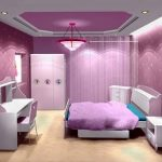 son trend lila genç odası