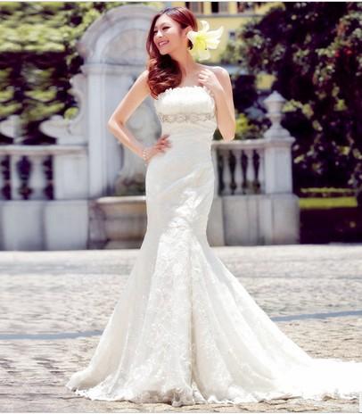 cdda9060bd48e straplez sezon modası balık gelinlik modeli – moda bayan giyim kadın ...