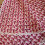 tığ işi örgü bebek battaniyesi