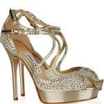 taşlı abiye gece ayakkabısı