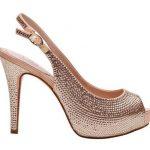 taşlı dore ayakkabı modeli
