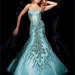 tutkulu mavi Amores... gece elbisesi