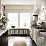 yeni model siyah beyaz mutfak dolabı