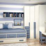 yeni sezon gri beyaz ranzalı genç odası