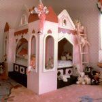 şato temalı bebek odası modeli