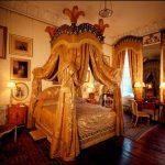 ultra lüx cibinlik detaylı yatak odası modeli