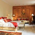 ahşap modern yatak odası modeli