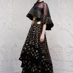 alexander mcqueen ispanyol model elbise modeli