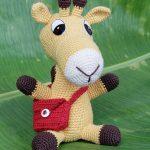 amigurumi şirin zürafa modeli