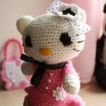 amigurumi hello kitty modeli