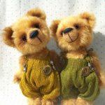 amigurumi mutlu ayılar modeli