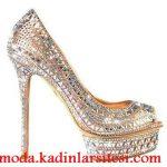 aynalı ayakkabı modeli