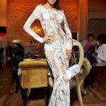beyaz dantel gece elbisesi modeli