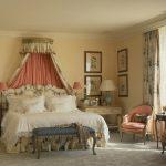 beyaz krem yatak odası modeli