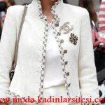 chanel beyaz ceket modeli