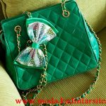 chanel yeşil çanta modeli