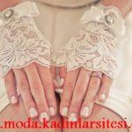 dantel eldiven modeli