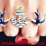 denizci yüzük modeli