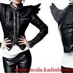 deri kanatlı ceket modeli