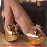 dore metal tokalı ayakkabı modeli