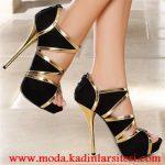 dore siyah ayakkabı modeli