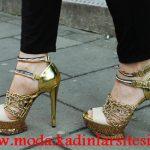 dore zincirli ayakkabı modeli