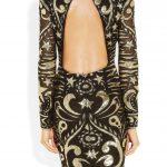 emilio pucci sırt dekolteli elbise modeli