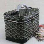 füme siyah makyaj çantası modeli yeni