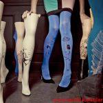 farklı desenli mus çorap modelleri